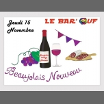 Le Bar'Ouf : Beaujolais Village Nouveau à Paris le jeu. 15 novembre 2018 de 18h00 à 23h00 (After-Work Gay Friendly, Lesbienne)