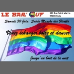 Le Bar'Ouf : Soirée Marche des fiertés in Paris le Sat, June 30, 2018 from 05:00 pm to 05:00 am (After-Work Gay Friendly, Lesbian)