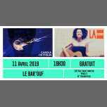 Concert La Piscine est à Flo + Carole Cettolin en Paris le jue 11 de abril de 2019 19:30-22:00 (Concierto Gay Friendly, Lesbiana)