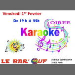Le Bar'Ouf : Karaoke in Paris le Fri, February  1, 2019 from 07:00 pm to 10:00 pm (After-Work Gay Friendly, Lesbian)