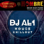 Dj Al1 sera Au El Hombré le 14 décembre 2018 in Paris le Fri, December 14, 2018 from 10:00 pm to 04:00 am (After-Work Gay, Bear)