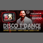 Disco T'Dance in Paris le Sun, December 16, 2018 from 06:00 pm to 02:00 am (After-Work Gay, Bear)