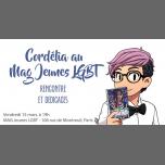 Cordélia à Paris : rencontre et dédicaces in Paris le Fri, March 15, 2019 from 07:00 pm to 08:30 pm (Meetings / Discussions Gay, Lesbian, Trans, Bi)