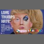 Tea Dance : Love Trumps Hate à Paris le dim. 26 novembre 2017 de 18h00 à 23h00 (Tea Dance Gay, Lesbienne, Trans, Bi)