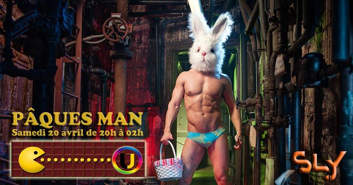 ◣ Pâques-Man ◥ votre before samedi de 20h à 02h ! à Paris le sam. 20 avril 2019 de 20h00 à 02h00 (After-Work Gay)