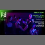 Erreur 404 : spectacle - internet et genres em Paris le sex, 22 março 2019 20:00-21:30 (Show Gay, Lesbica, Trans, Bi)