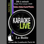 Karaoké Clubbing in Paris le Thu, May 31, 2018 from 08:00 pm to 12:30 am (Clubbing Gay Friendly)