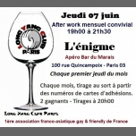 After work mensuel convivial in Paris le Thu, June  7, 2018 from 07:00 pm to 09:30 pm (After-Work Gay Friendly)