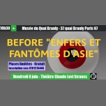 """Before """"Enfers et fantômes d'Asie"""" à Branly in Paris le Fri, June  8, 2018 from 06:30 pm to 11:00 pm (Before Gay Friendly)"""