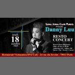 Resto Concert avec Danny Luu (Vietnam) au DNJ Café in Paris le Thu, October 18, 2018 from 07:45 pm to 11:59 pm (Restaurant Gay, Lesbian)