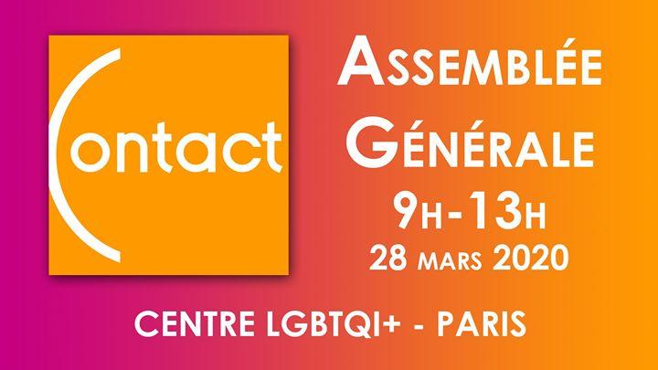 Assemblée Générale CONTACT France a Parigi le sab 28 marzo 2020 09:00-13:00 (Vita associativa Gay, Lesbica, Etero friendly, Orso)