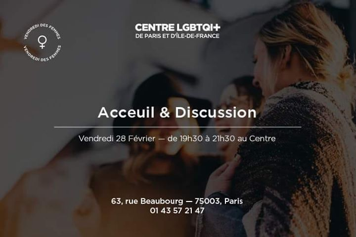 Accueil & Discussion avec le VDF a Parigi le ven 28 febbraio 2020 19:30-21:30 (Incontri / Dibatti Gay, Lesbica, Etero friendly, Orso)