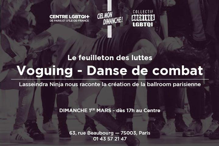 Le feuilleton des luttes : Lasseindra Ninja à Ciel Mon Dimanche a Parigi le dom  1 marzo 2020 17:30-20:00 (Incontri / Dibatti Gay, Lesbica, Etero friendly, Orso)