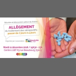 Débat sur l'allègement du traitement des séropositifs in Paris le Tue, December 11, 2018 from 07:30 pm to 10:30 pm (Health care Gay)