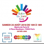 2e Salon du Livre Gay in Paris le Sat, August 25, 2018 from 10:00 am to 06:00 pm (Meetings / Discussions Gay, Lesbian, Hetero Friendly, Bear)