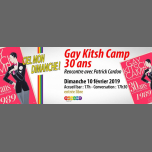 Patrick Cardon : GayKitshCamp 30 ans in Paris le Sun, February 10, 2019 from 05:00 pm to 07:30 pm (Meetings / Discussions Gay, Lesbian, Hetero Friendly, Bear)