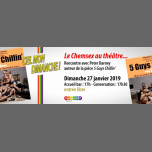 Le Chemsex au théâtre : rencontre avec 5 Guys Chillin' in Paris le Sun, January 27, 2019 from 05:00 pm to 07:30 pm (Meetings / Discussions Gay)