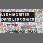 Les minorités dans les comics - Conférence/débat in Paris le Thu, October 25, 2018 from 07:30 pm to 09:30 pm (Meetings / Discussions Gay)