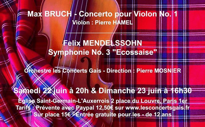 Les Concerts Gais fêtent leurs 10 ans ! à Paris le sam. 22 juin 2019 de 20h00 à 22h00 (Concert Gay, Lesbienne, Trans, Bi)