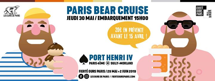 Paris Bear Cruise 2019 em Paris le qui, 30 maio 2019 15:00-18:00 (Cruzeiro Gay, Bear)