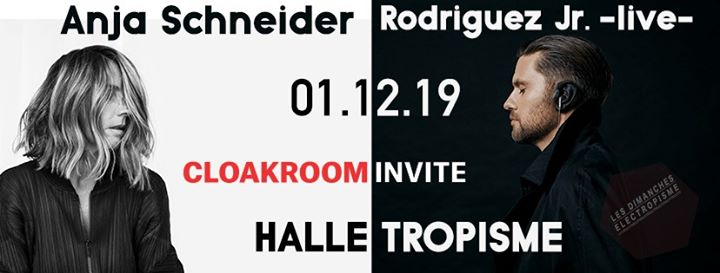 Les dimanches electropisme Rodriguez Jr.-live- & Anja Schneider in Montpellier le Sun, December  1, 2019 from 03:00 pm to 10:00 pm (After-Work Gay)