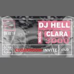 Cloakroom Invite DJ HELL & Clara 3000 in Paris le Fri, February  8, 2019 from 11:00 pm to 06:00 am (Clubbing Gay)