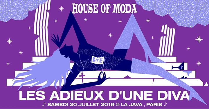 House of Moda - Les adieux d'une diva in Paris le Sat, July 20, 2019 from 11:55 pm to 06:00 am (Clubbing Gay)