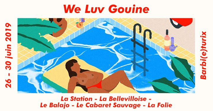 We Luv Gouine du 26 au 30 juin 2019 in Paris from 26 til June 30, 2019 (Festival Lesbian)