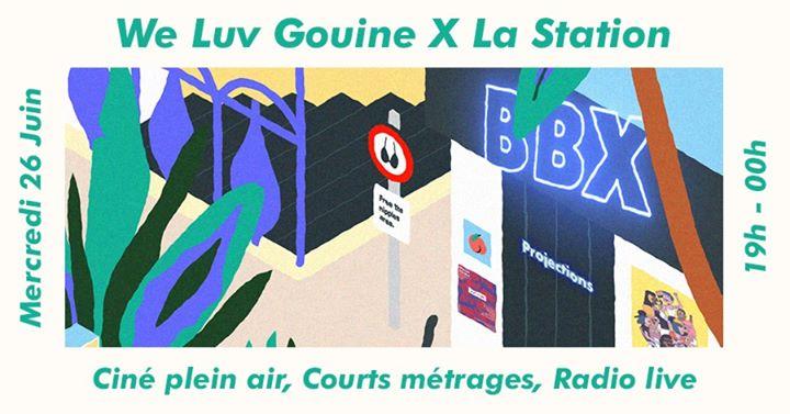 巴黎We Luv Gouine x La Station : Ciné Plein Air et Courts Métrages2019年 7月26日,19:00(女同性恋 下班后的活动)
