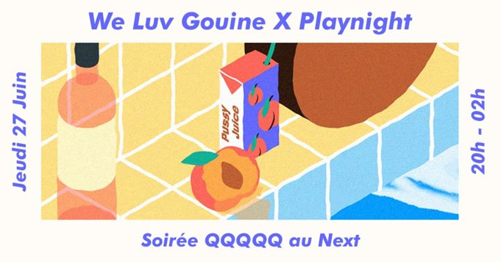 We Luv Gouine x Playnight : QQQQQ em Paris le qui, 27 junho 2019 20:00-02:00 (After-Work Lesbica)