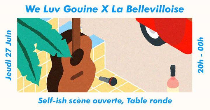 We Luv Gouine x La Bellevilloise : Self-ish et Table Ronde em Paris le qui, 27 junho 2019 20:00-00:00 (After-Work Lesbica)
