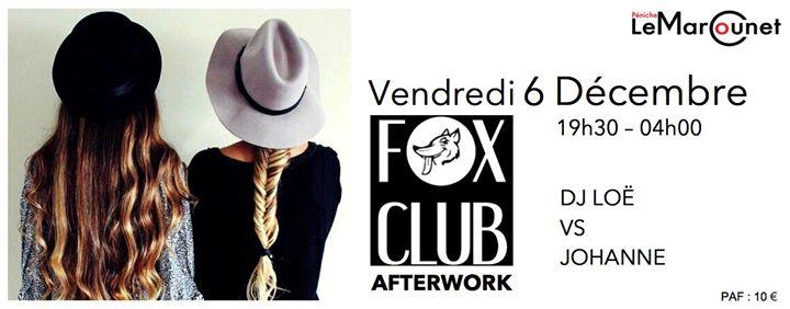 FOX Afterwork Vendredi 6 Décembre Péniche Marcounet in Paris le Fr  6. Dezember, 2019 19.30 bis 04.00 (Clubbing Lesbierin)