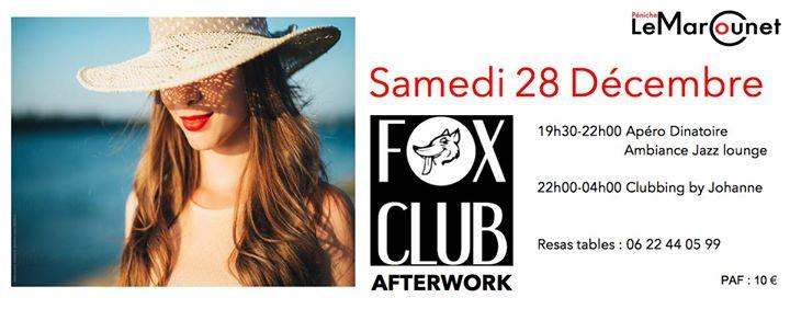 FOX Clubbing la dernière samedi 28 décembre Péniche Marcounet in Paris le Sa 28. Dezember, 2019 19.30 bis 04.00 (Clubbing Lesbierin)