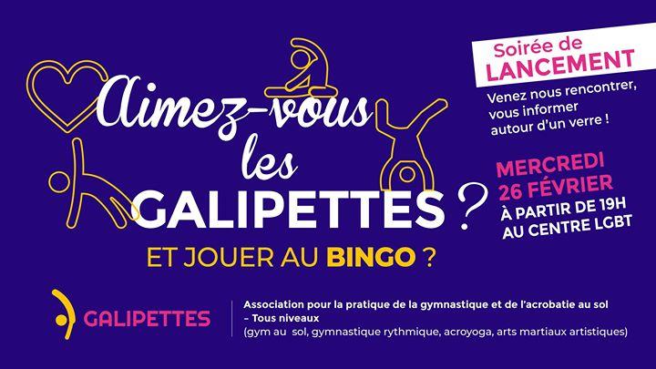 Les Galipettes se lancent ! - Soirée au Centre LGBT Paris-IDF a Parigi le mer 26 febbraio 2020 19:00-22:00 (Incontri / Dibatti Gay, Lesbica, Etero friendly, Trans, Bi)