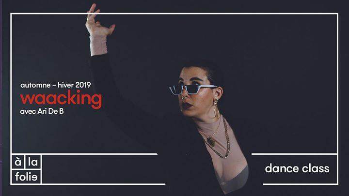 Dance class : Waacking avec Ari de B à Paris le sam. 21 septembre 2019 de 15h00 à 16h00 (Atelier Gay Friendly)