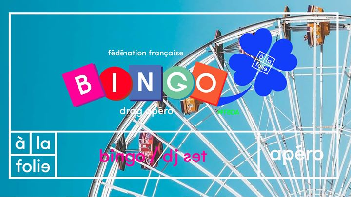 Ff Bingo Drag Apero + Dj Set in Paris le Sun, August  4, 2019 from 06:00 pm to 12:00 am (After-Work Gay Friendly)