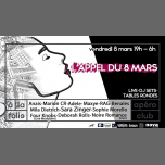 L'Appel du 8 Mars 2ème Edition in Paris le Fri, March  8, 2019 from 06:00 pm to 06:00 am (Clubbing Gay, Lesbian, Trans, Bi)