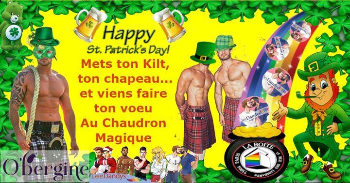 La Dandys, Apéro Lgbt Cool, Viens Fêter la St Patrick in Paris le Sat, March 14, 2020 from 07:00 pm to 11:50 pm (After-Work Gay)