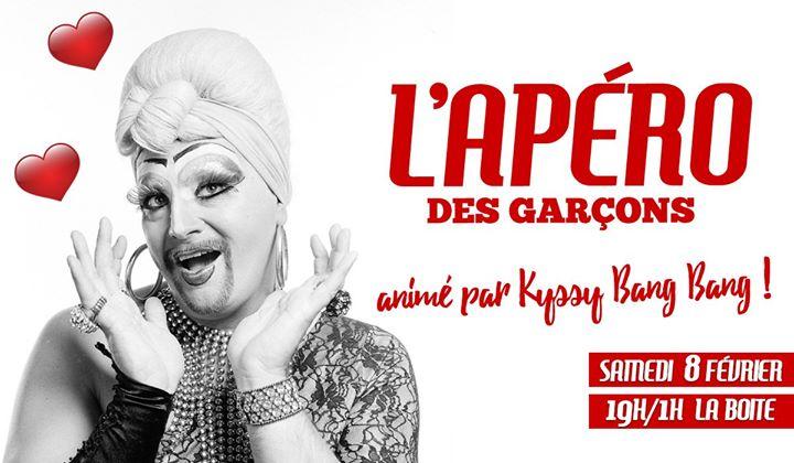 L'apéro des garçons - Sans Valentin in Paris le Sat, February  8, 2020 from 07:00 pm to 01:00 am (After-Work Gay)
