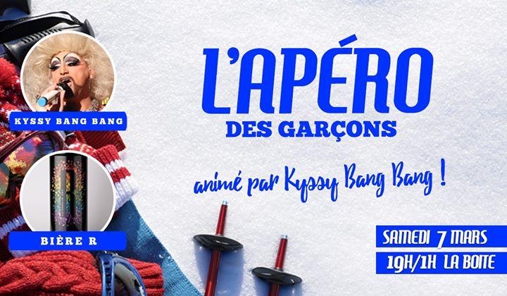 L'apéro des garçons prend le tire-fesse en Paris le sáb  7 de marzo de 2020 19:00-01:00 (After-Work Gay)