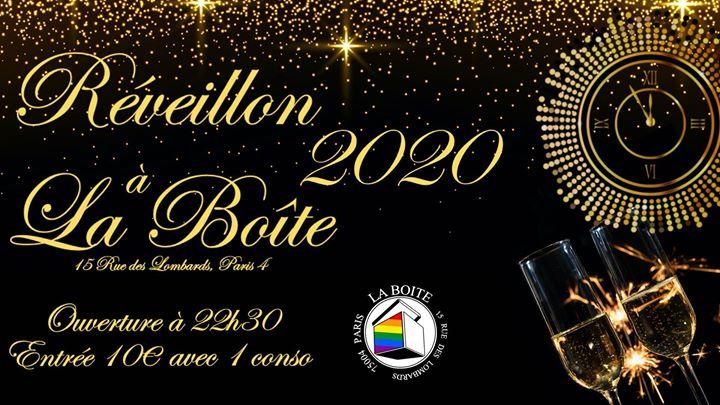 Réveillon 2020 à La Boîte in Paris le Tue, December 31, 2019 from 10:30 pm to 05:00 am (Clubbing Gay)