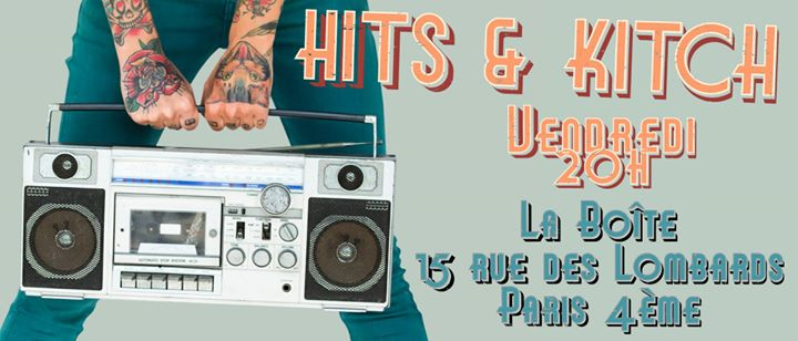 Soirée Hits & Kitsch in Paris le Fr 28. Juni, 2019 20.00 bis 03.00 (Clubbing Gay)
