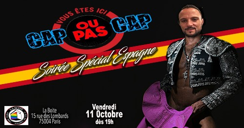 Cap ou pas Cap ?! a Parigi le ven 11 ottobre 2019 19:00-04:00 (After-work Gay)