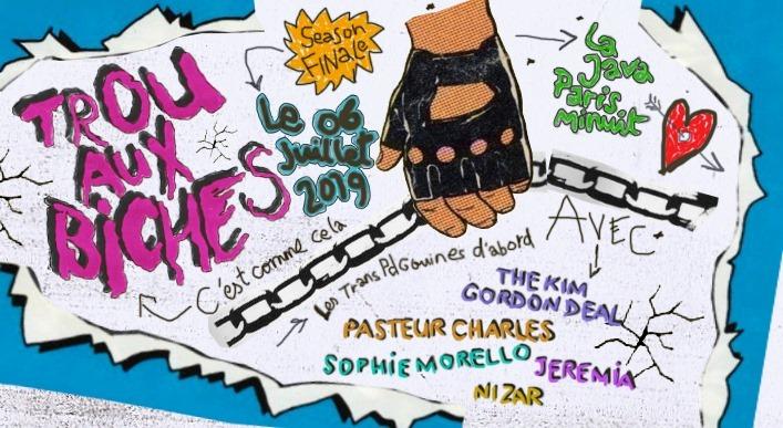 Trou Aux Biches in Paris le Sa  6. Juli, 2019 23.45 bis 06.00 (Clubbing Gay, Lesbierin)