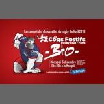 Lancement des chaussettes de rugby de Noël des Coqs Festifs à Paris le mer.  5 décembre 2018 de 20h00 à 02h00 (After-Work Gay)