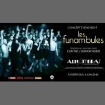Les Funambules à l'Alhambra em Paris de 11 para 17 de junho de 2018 (Concerto Gay Friendly)