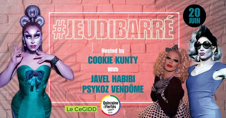 JeudiBarré fête la musique (en avance) en Paris le jue 20 de junio de 2019 19:30-10:30 (After-Work Gay Friendly)