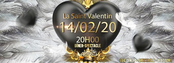 """Saint Valentin a l'Artishow !! Nouveau spectacle """"Maskara"""" ! in Paris le Fr 14. Februar, 2020 20.00 bis 23.30 (Vorstellung Gay Friendly)"""