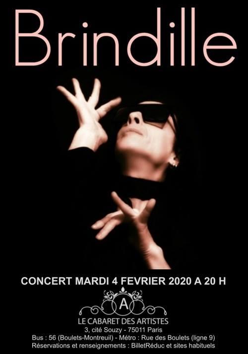 Brindille En Concert Exceptionnel a L'artishow ! in Paris le Di  4. Februar, 2020 20.00 bis 23.00 (Vorstellung Gay Friendly)
