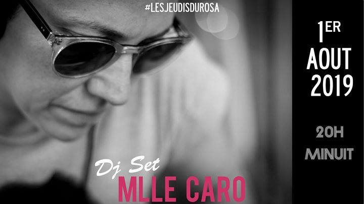 Les Jeudis du Rosa // Mlle Caro à Paris le jeu.  1 août 2019 de 20h00 à 23h50 (After-Work Gay Friendly, Lesbienne Friendly)